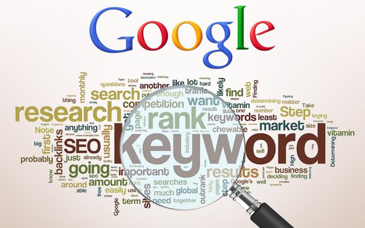 Googles kewords planner