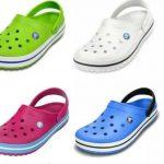 Zapatos Crocs: el registro no es válido