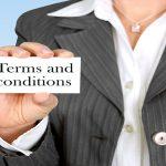 Términos y condiciones sitio web