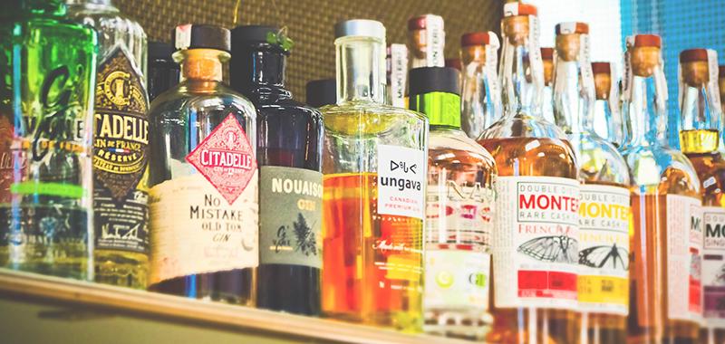 etiquetado de bebidas alcohólicas